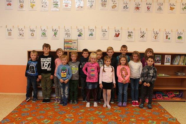 Žáci 1.B ze Základní školy vDubňanech.