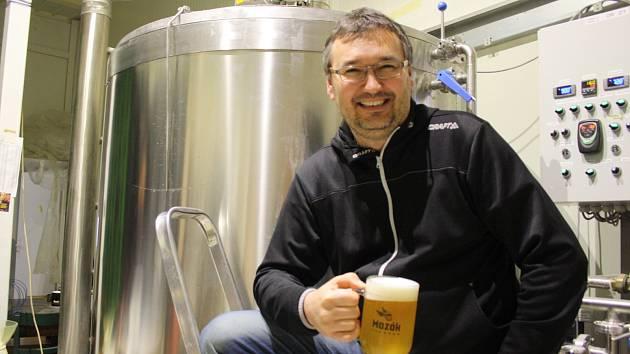 Majitel, sládek a distributor dolnobojanovického pivovaru Mazák Jiří Michalovič.
