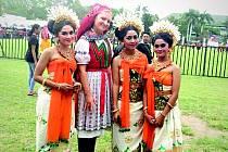 Spolu s dalšími třinácti folklorními soubory navštívil od čtvrtého do osmnáctého října strážnický Věčně mladý Danaj Mezinárodní folklorní festival World Culture Forum 2016 na indonéském ostrově Bali.