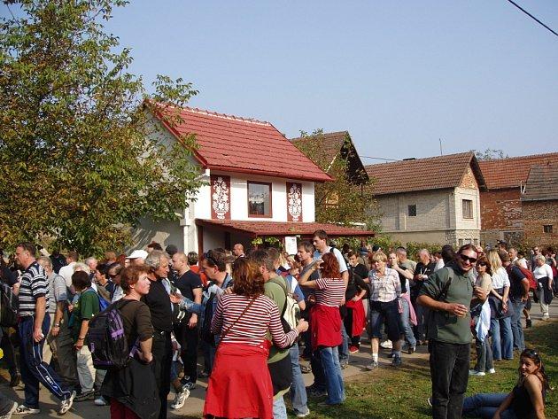 Pochod slováckými vinohrady.