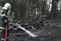 Požár pneumatik