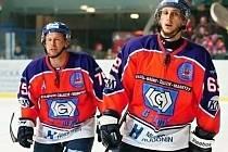 Druholigoví hokejisté SHK Hodonín.