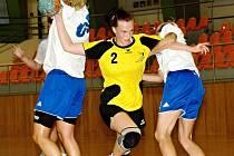 Hodonínská hráčka Irena Ivičičová se prosadila proti Velké Bystřici pouze jednou.