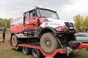 Aleš Loprais se s týmem připravoval na Rallye Dakar 2018 na bývalém vojenském cvičišti Pánov u Hodonína.