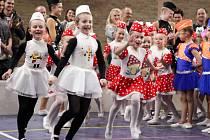 Mažoretky z Kyjova uspořádaly v Dubňanech mezinárodní soutěž IMC. Více než osm set děvčat bojovalo o postup na mistrovství Evropy do Bulharska.