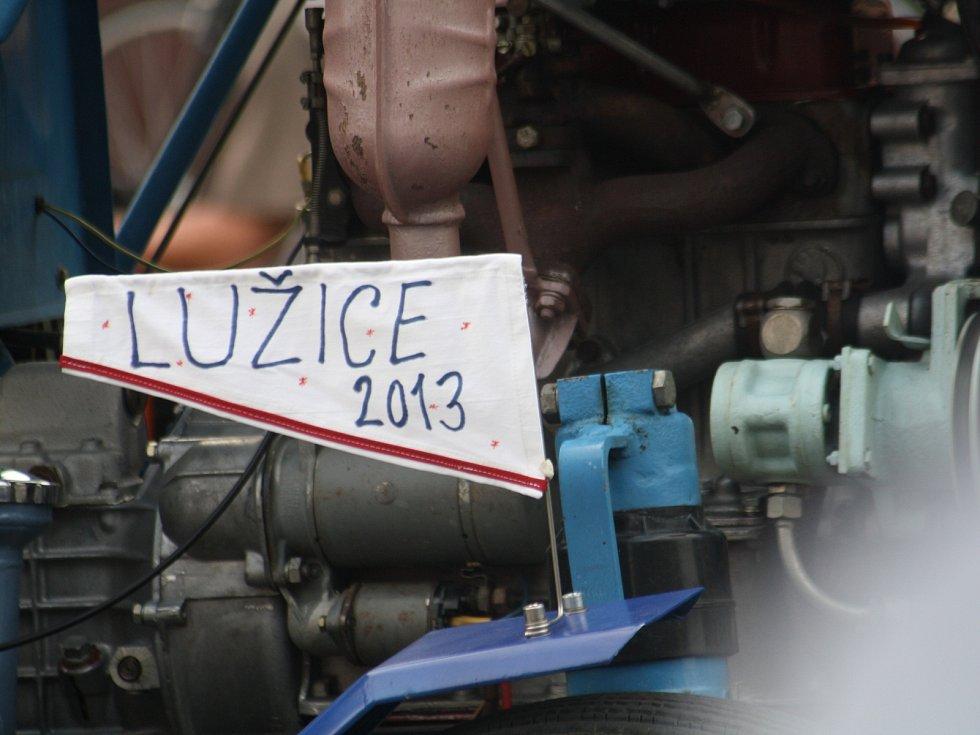 V Lužicích se konal už čtvrtý ročník závodu malotraktorů.