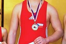 Mladý hodonínský zápasník Martin Gajdík se stal mistrem České republiky v kategorii dorostu.