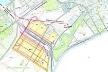 Na téměř osmdesáti hektarech na okraji Hodonína plánuje společnost DOE Europe překladiště a nový přístav, z něj by se zboží dostalo po Moravě na dunajskou vodní cestu mezi holandským Rotterdamem a rumunskou Konstancií.