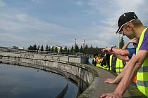 Slavnosti vodního králoství, návštěva čističky odpadních vod.