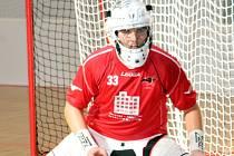 Čtyřiadvacetiletý brankář Gullivers Sokol Brno I Lukáš Křižka pomohl svému týmu k pátému místu ve druhé lize.