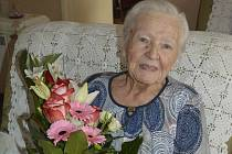 Krásné životní jubileum oslavila paní Pavlína Pochylá z Hodonína.