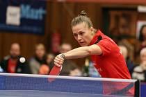 K oporám hodonínských stolních tenistek patří Polka Natalia Partyková.