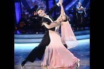 Oblíbený taneční pár Václav Masaryk – Monika Absolonová skončil ve Star Dance třetí.