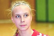 Šestnáctiletá spojka Valerie Smetková z klubu HK Hodonín