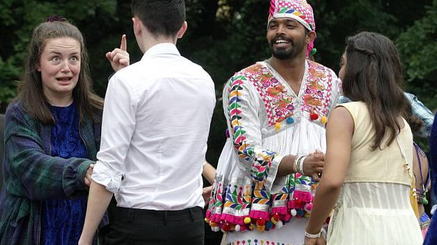 Mezinárodní folklorní festival ve Strážnici na Hodonínsku. Letos se konal již 71. ročník.