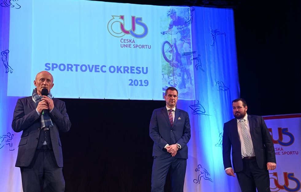Slavnostní vyhlášení ankety Sportovec okresu Hodonín za rok 2019 se po třech letech uskutečnilo ve Veselí nad Moravou.