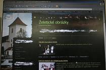 želetické webové stránky