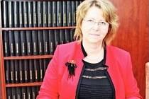 Předsedkyně představenstva Milena Kadlecová.