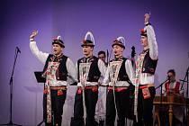 Slovácký soubor Kyjov vystoupily na festivalu ve slovinském Mariboru.
