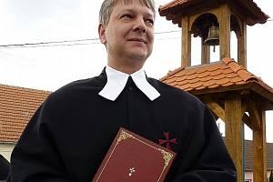 Josef Šedivý ještě jako věteřovský farář.