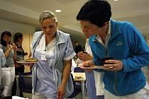 Férová svačinka v hodonínské nemocnici.