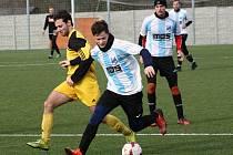 Fotbalisté FC Veselí nad Moravou si v zimní přípravě připsali první výhru. Svěřenci trenéra Richarda Hrotka doma přehráli Slušovice 3:1.