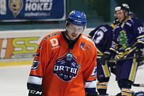 Hodonínští hokejisté prohráli ve 41. kole druhé ligy se Šumperkem 1:5. Drtiči se po sobotním zápase zlobili na rozhodčího Vrbu.