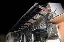 Ve Vracově došlo k požáru rodinného domu.