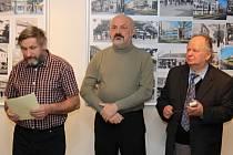 Vernisáž v hodonínském Regionálním centru fotografií od Antonína Kučery a Antonína Salajky.