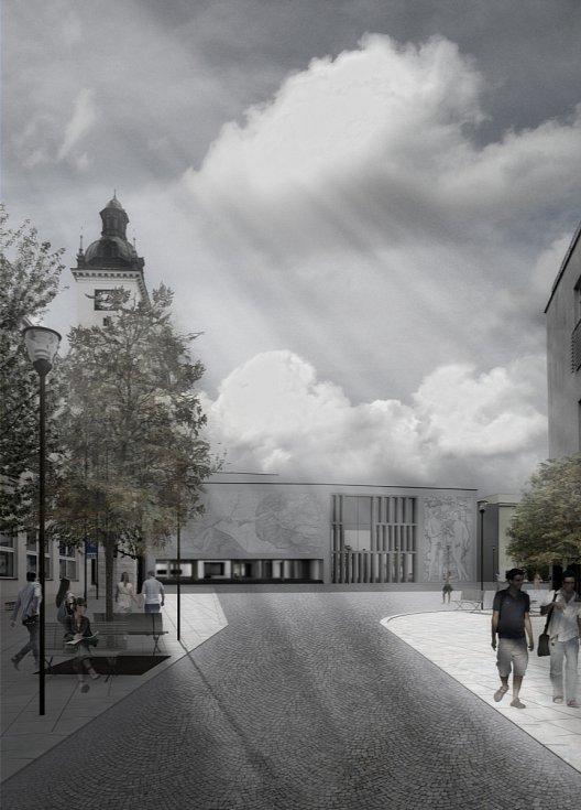 Kyjovský architekt Pavel Řihák se zaměřil na okolí kulturního domu.