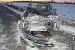 Nehoda na křižovatce smrti u hodonínského Pánova.