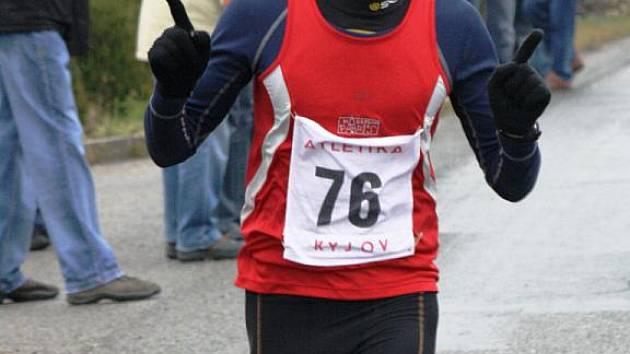 Závodník Lokomotivy Břeclav Roman Paulík vyhrál devětačtyřicátý ročník Štěpánského běhu v Kyjově.