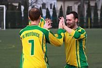 Fotbalisté Mutěnic vstoupili do druhé poloviny sezony impozantní výhrou 7:0 na hřišti posledních Jevišovic.