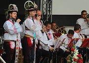 Dechová hudba Mistříňanka zahrála svým příznivcům v kyjovském letním kině. Oslavila tak padesát let.