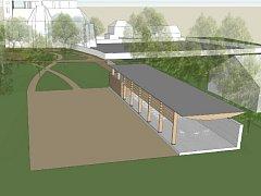 V Prušánkách brzy začne výstavba multifunkčního parku za tamním kostelem vedle hřbitova. Součást areálu bude přístřešek, který poslouží při kulturních akcích, pohřbech nebo svatbách.