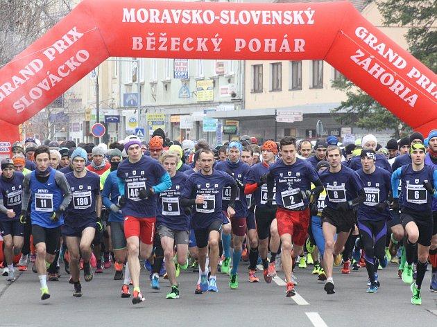 Sedmadvacátý ročník Moravsko-Slovenského běžeckého poháru za rok 2017 ovládl Ukrajinec Olexandr Matviichuk, a u žen Petra Kamínková.