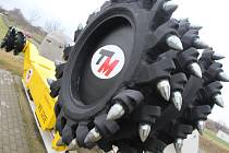 Firma T Machinery se zabývá vývojem a výrobou důlní techniky pro těžbu hornin.