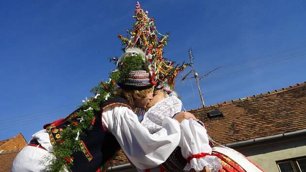 Hody ve Ždánicích každoročně navštěvuje hojný počet lidí.