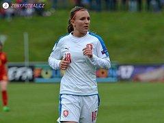 Mutěnická rodačka Kateřina Šperová (dres číslo 18) se v první polovině května zúčastnila mistrovství Evropy fotbalistek do sedmnácti let.