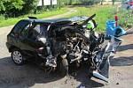 U Vnorov se stala tragická nehoda, při níž zemřeli čtyři lidé.