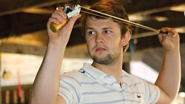 Mistr Evropy z roku 2009 Jiří Holešinský skončil na mutěnické prakiádě sedmý.