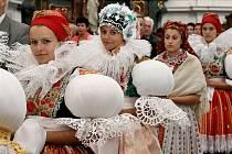 Andělské hody ve Veselí nad Moravou se každoročně těší velké návštěvnosti.