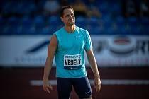 Vítězslav Veselý jede na svou čtvrtou olympiádu.