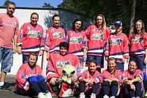 Hokejbalistky Kyjova, které si říkají Barbíny, budou v letošní sezoně hrát nejvyšší ženskou soutěž.
