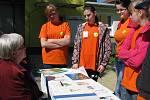 Okresní soutěž hlídek mladých zdravotníků v Hodoníně.