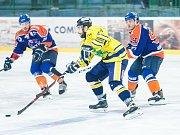 Hrající sportovní ředitel hodonínských Drtičů Daniel Vaněk nebyl po prohraném zápase se Šumperkem v žádném případě spokojený.