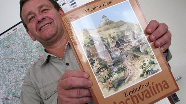 Malá obec Nechvalín má svou první knihu o historii. Starosta je spokojený.