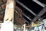 V Nenkovicích udeřil při bouřce blesk do rodinného domu. Škoda je půl milionu korun.