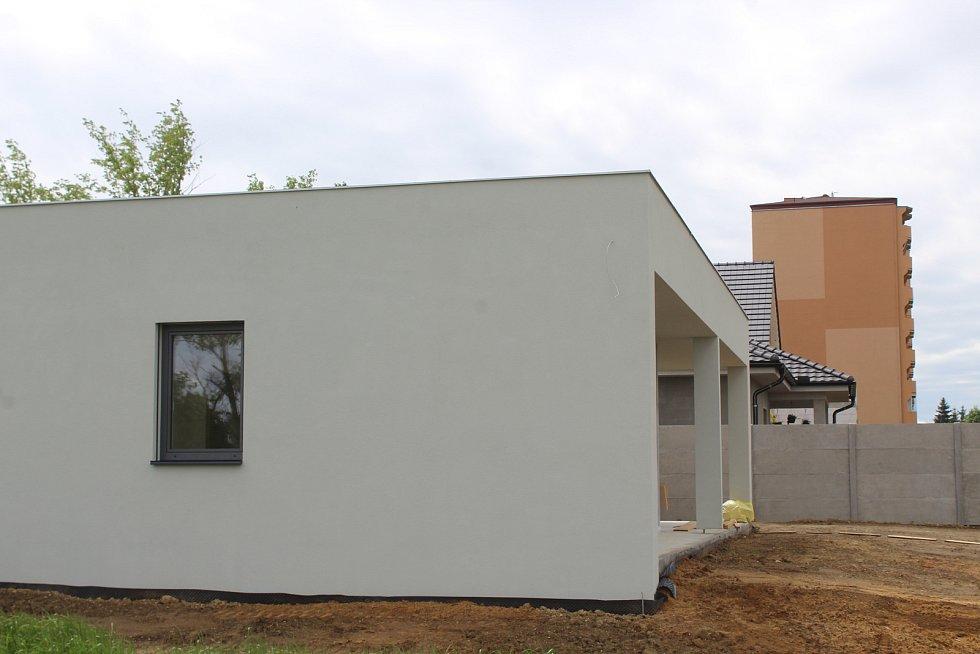 Nová výstavba rodinných domů v lokalitě Hutník.