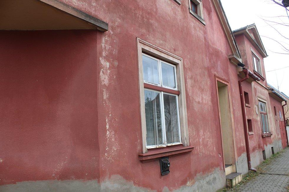 Dům rodiny tiskaře a malíře Jaroslava Žůrka v Hodoníně, který díky závěti získalo město.